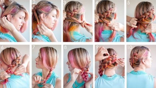 Модные прически из длинных волос как сделать