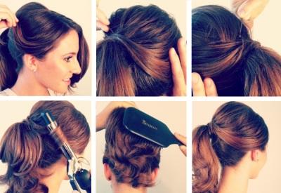 Как завязать волосы