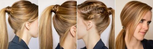 простые причёски