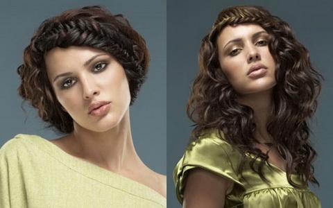 креативные прически для длинных волос