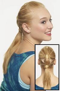 прически для длинных волос на каждый день для школьниц