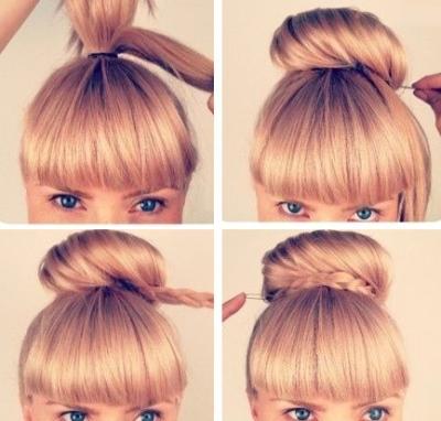 Резинка на пучок для волос