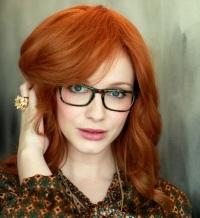 медный цвет волос Кристина Хендрикс