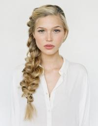 объемные косы на длинные волосы