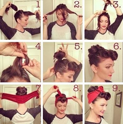 Как сделать причёску в стиле стиляг