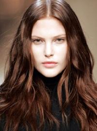 Темно русый золотистый цвет волос
