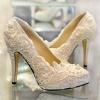 Свадебные туфли 2014: стильная поступь