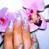 Аквариумный дизайн ногтей - удобен, практичен и долговечен