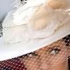 Шляпка с вуалью – самый загадочный аксессуар