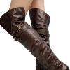 Ботфорты без каблука: ограничение высоты в пользу стиля
