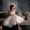 Короткие свадебные платья – лаконичный стиль