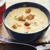 Сырный суп-пюре – нежное и легкое блюдо