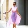 Модные цвета: как носить фиолетовый