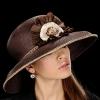 Как носить шляпки - подбираем головной убор правильно