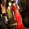 Китайские свадебные платья – пылающие, как сама любовь