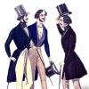 Мужская одежда викторианской эпохи – исторические модные правила