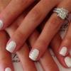 Свадебный маникюр на короткие ногти – аккуратно, нежно, красиво