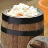 Как солить капусту в бочке: особенности и технология приготовления