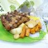 Как приготовить свиные ребрышки, запеченные с овощами