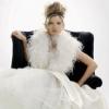 Свадебные платья зимой: балансируем на грани