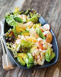 диетические салаты из морепродуктов