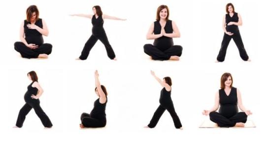 Гимнастика для беременных в домашних условиях. Упражнения 40