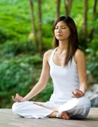 позы йоги для зачатия