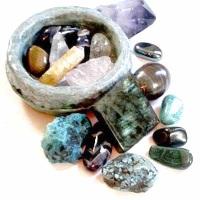 целительные кристаллы