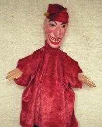 кукла марионетка перчатка Петрушка