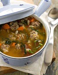 Суп с фрикадельками – рецепт вкусного домашнего обеда