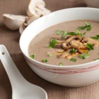 Грибной суп-пюре – ароматная нежность