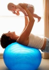 избавление от жира на животе после беременности